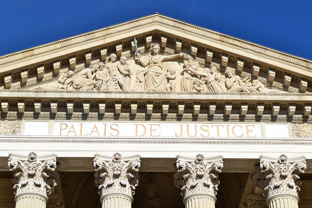 Nîmes Palais de Justice