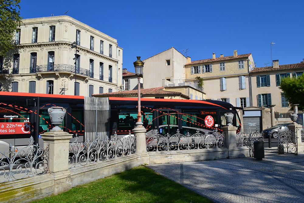 Nîmes Square Antonin