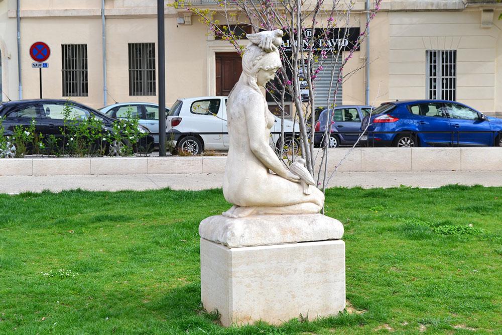 Nîmes Square de la Bouquerie