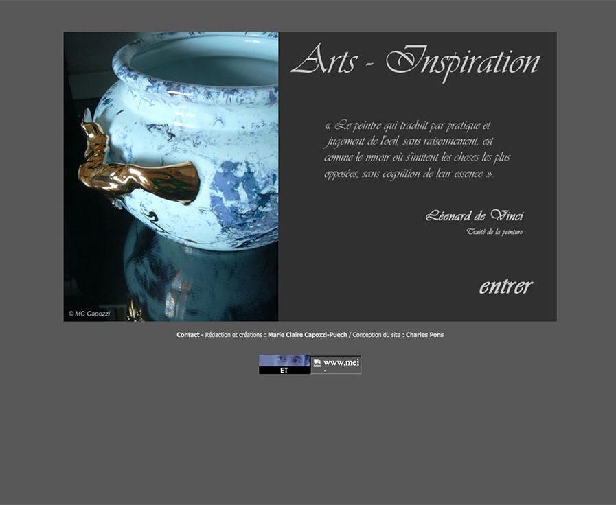 Arts inspiration