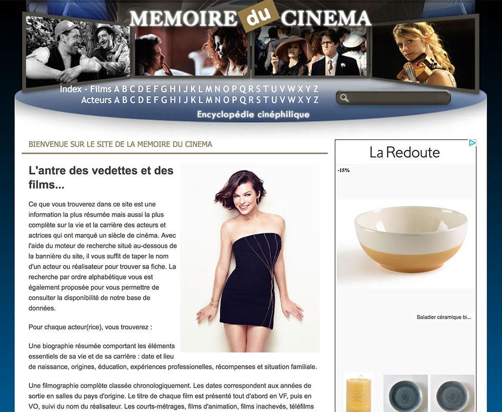 Mémoire du cinéma