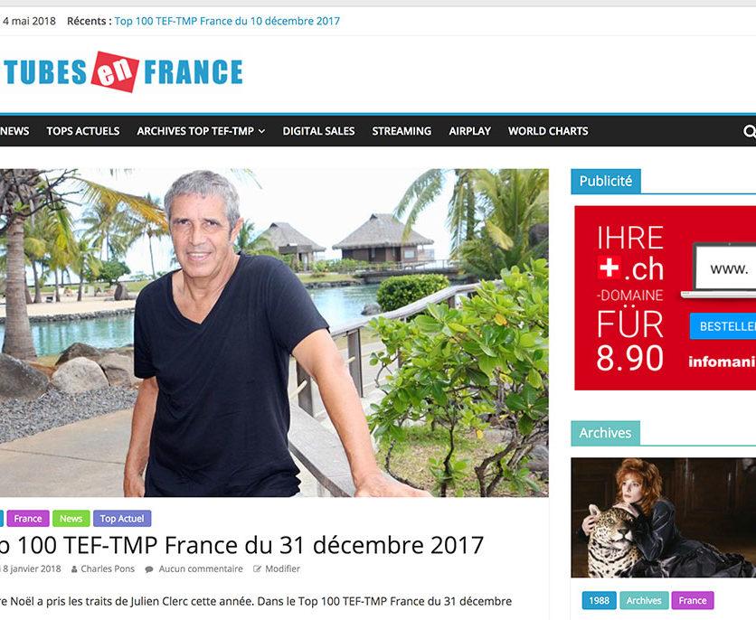 Tubes en France